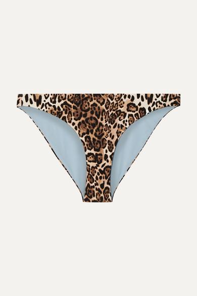 SKIN | Skin - The Jordan Leopard-Print Bikini Briefs - Leopard Print | Goxip
