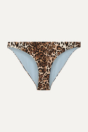 The Jordan leopard-print bikini briefs