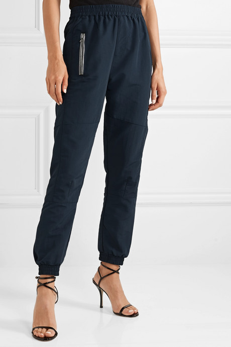 Finn shell track pants