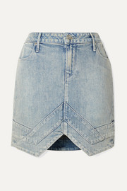 RtA Tempest denim mini skirt
