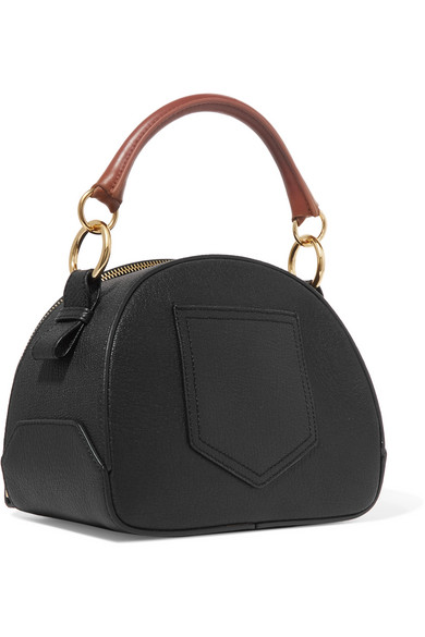 See By Chloé | Eddy Textured-leather shoulder bag | NET-A-PORTER COM