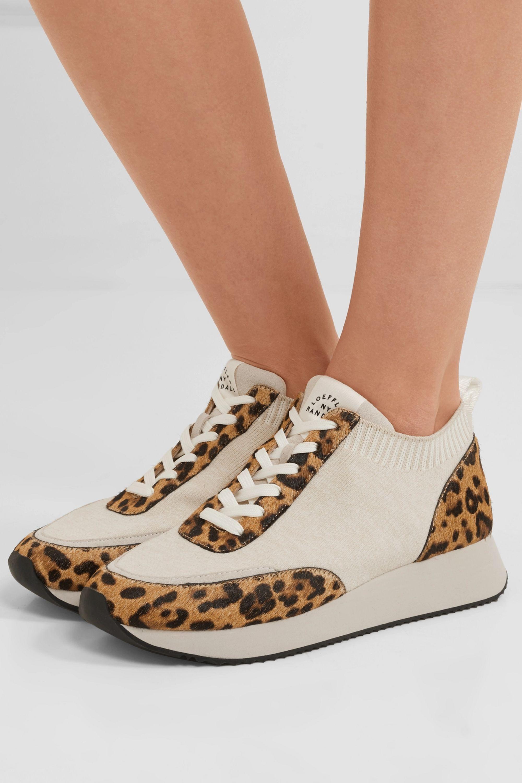 Remi leopard-print calf hair