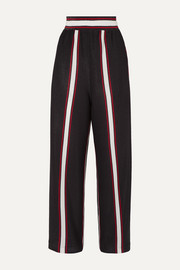 Golden Goose Sophie striped Lurex wide-leg pants