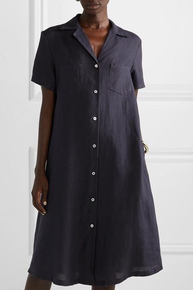 Mansur Gavriel | Linen shirt dress | NET A PORTER.COM