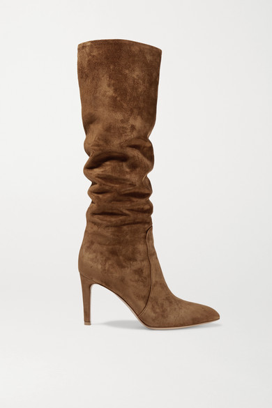 GR Suede Knee High Boots