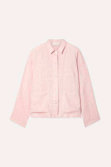 97faa2749390 Mansur Gavriel | Worker linen shirt | NET-A-PORTER.COM