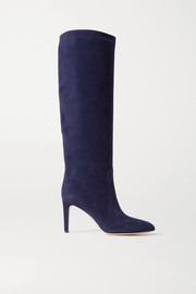 85 suede knee boots