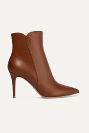 Gianvito Rossi Bottines en cuir Levy 85