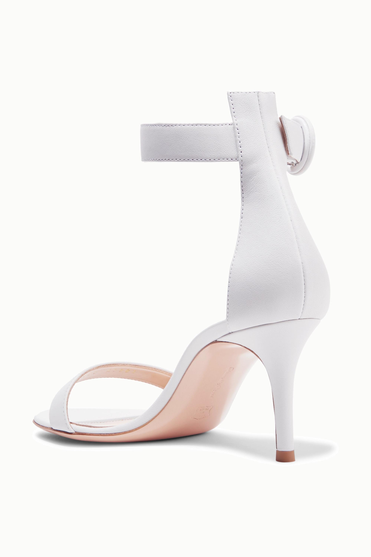 Gianvito Rossi Portofino 70 皮革凉鞋