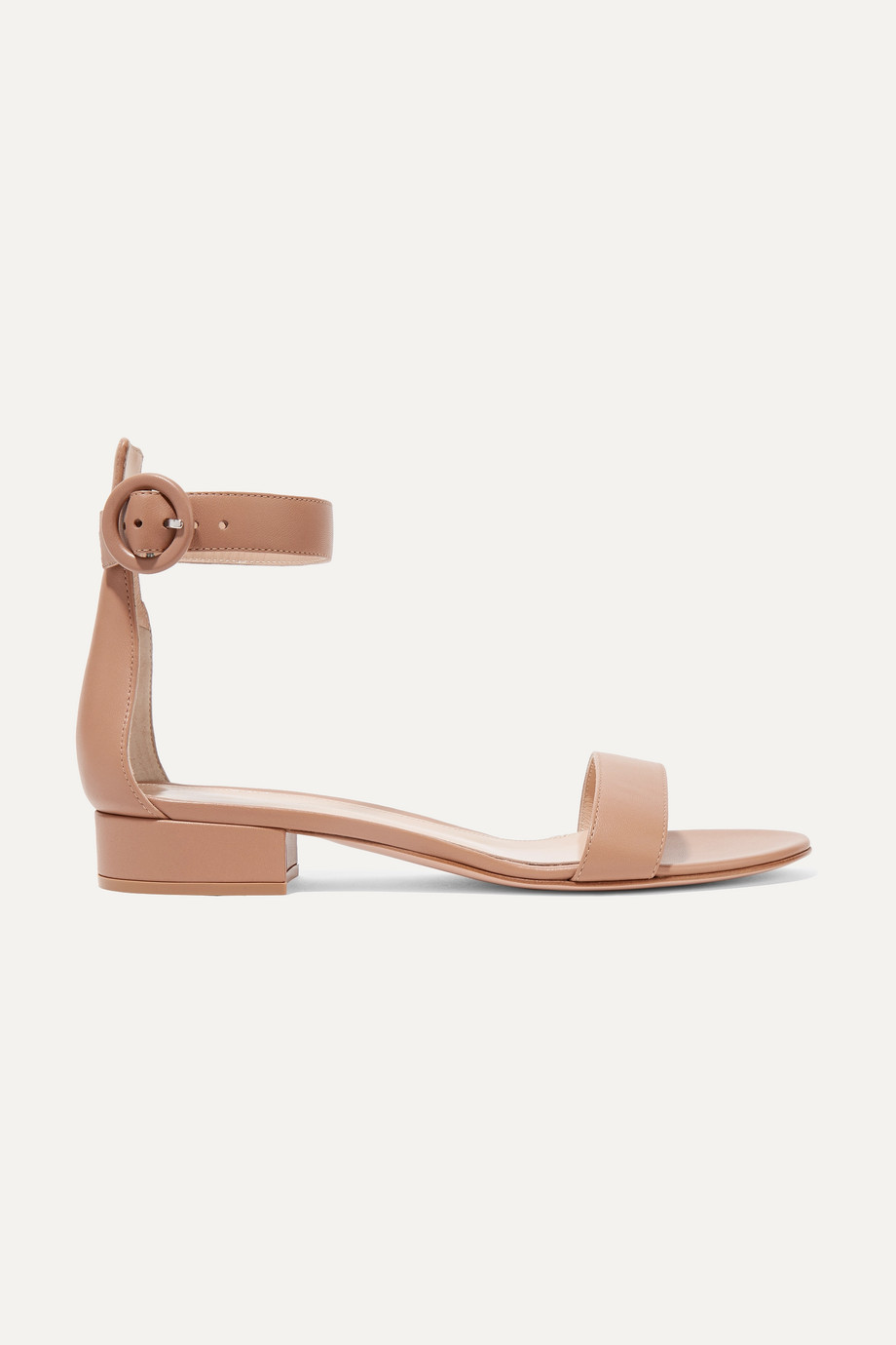 Gianvito Rossi Versilia 20 leather sandals