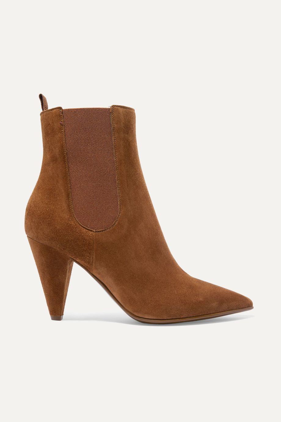 Gianvito Rossi 85 suede Chelsea boots