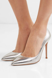 105 metallic leather pumps