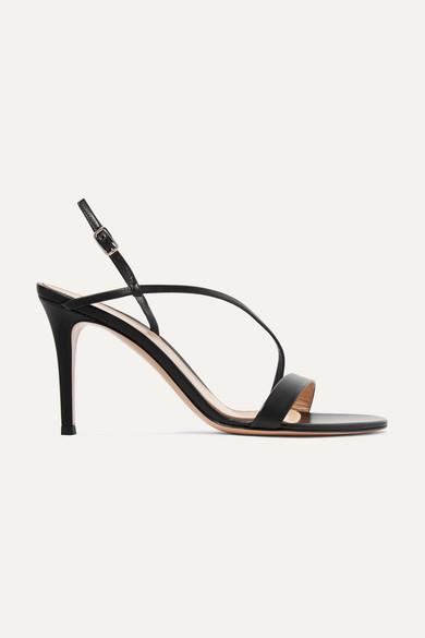 58cab9e5a40d Gianvito Rossi   Manhattan 85 leather sandals   NET-A-PORTER.COM
