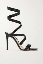 Gianvito Rossi Opera 120 leather sandals