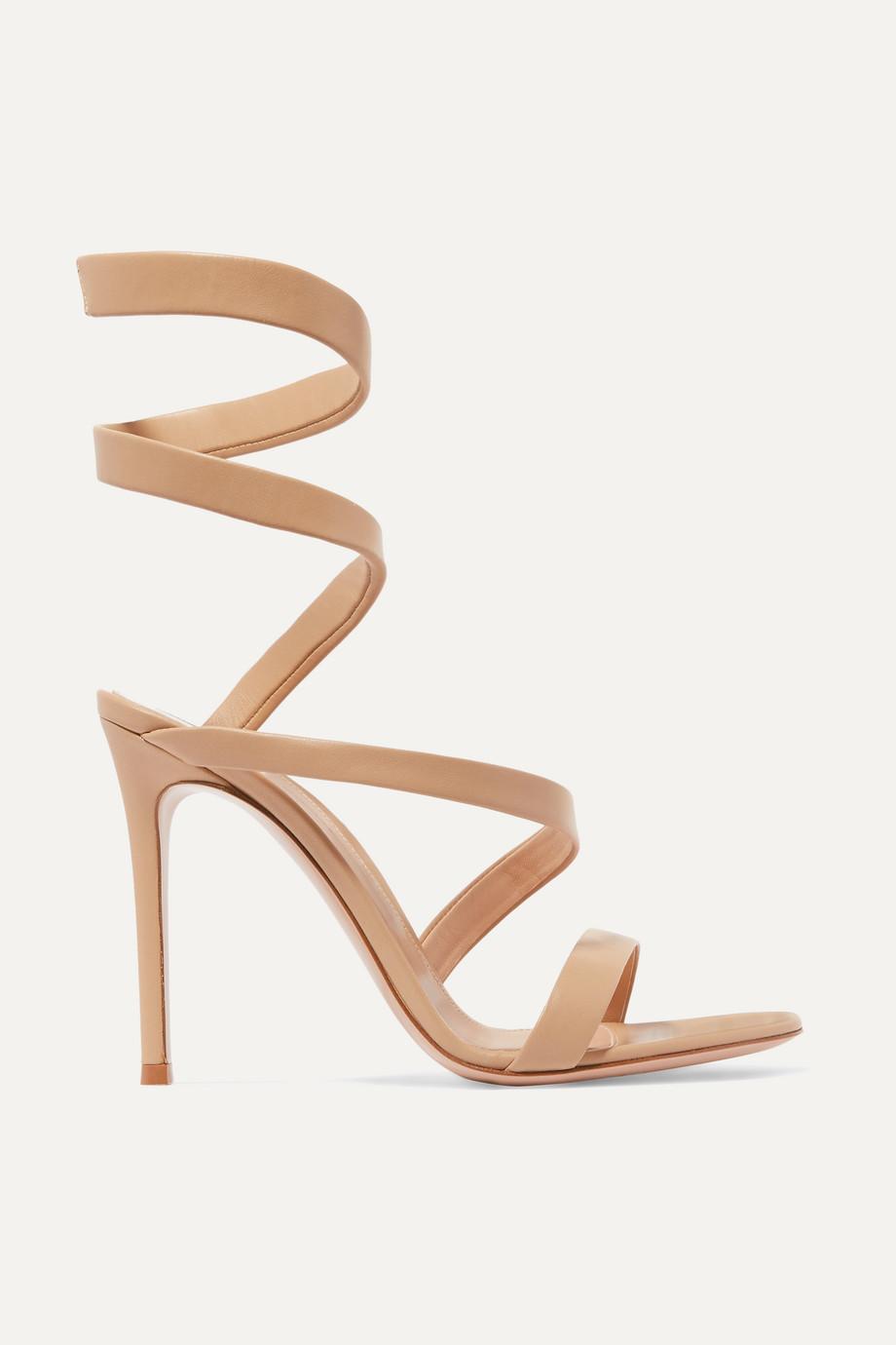 Gianvito Rossi  Opera 115 leather sandals