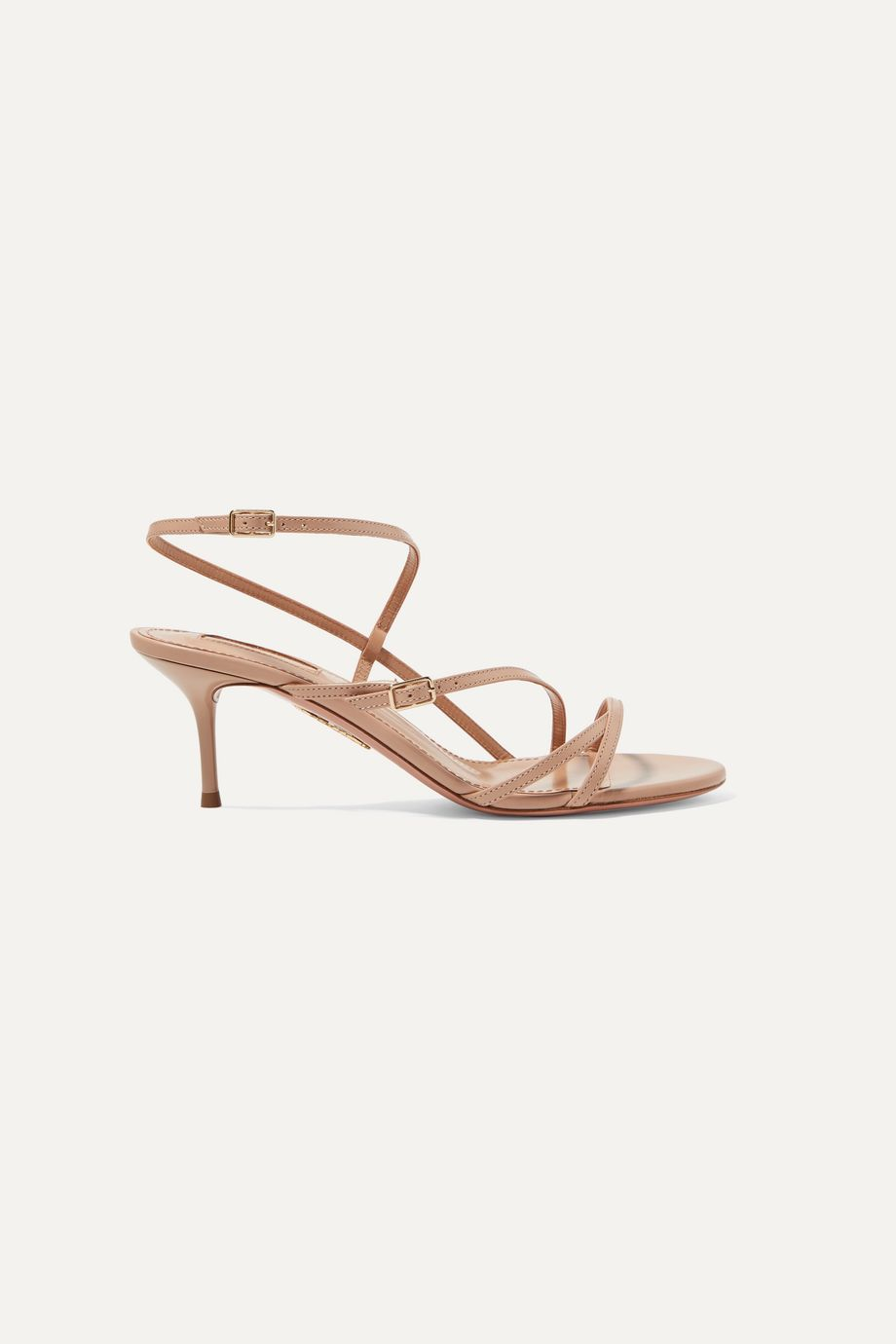 Aquazzura Carolyne 60 leather sandals
