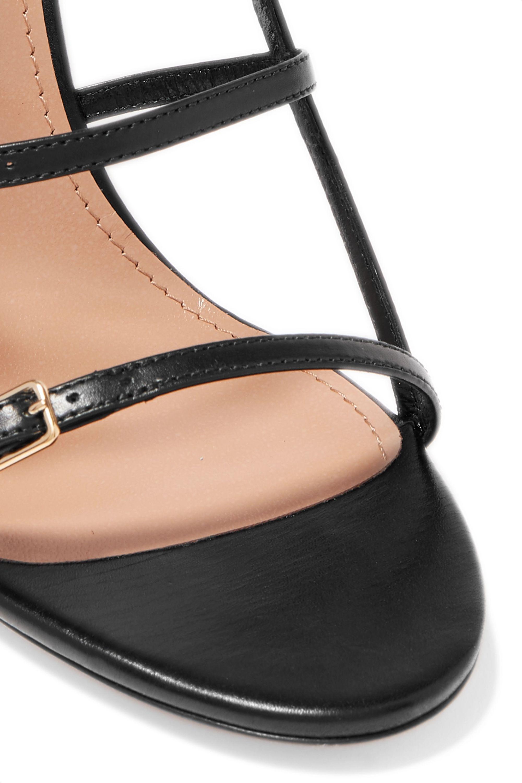 Aquazzura Super Model 105 leather sandals