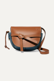 Loewe Gate small color-block leather shoulder bag