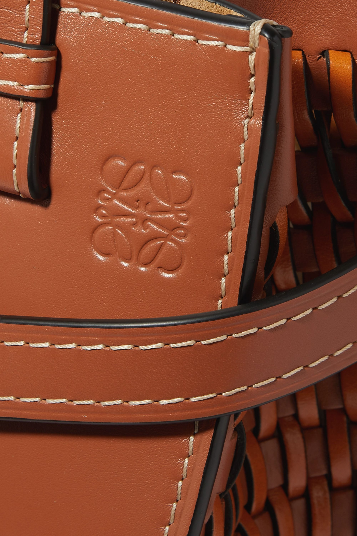 Loewe Gate woven leather tote