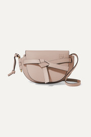 Loewe Gate mini textured-leather shoulder bag