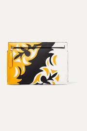 Loewe T paneled leather pouch