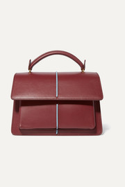 Marni Attache leather tote