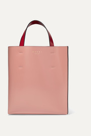 Museo small color-block leather tote