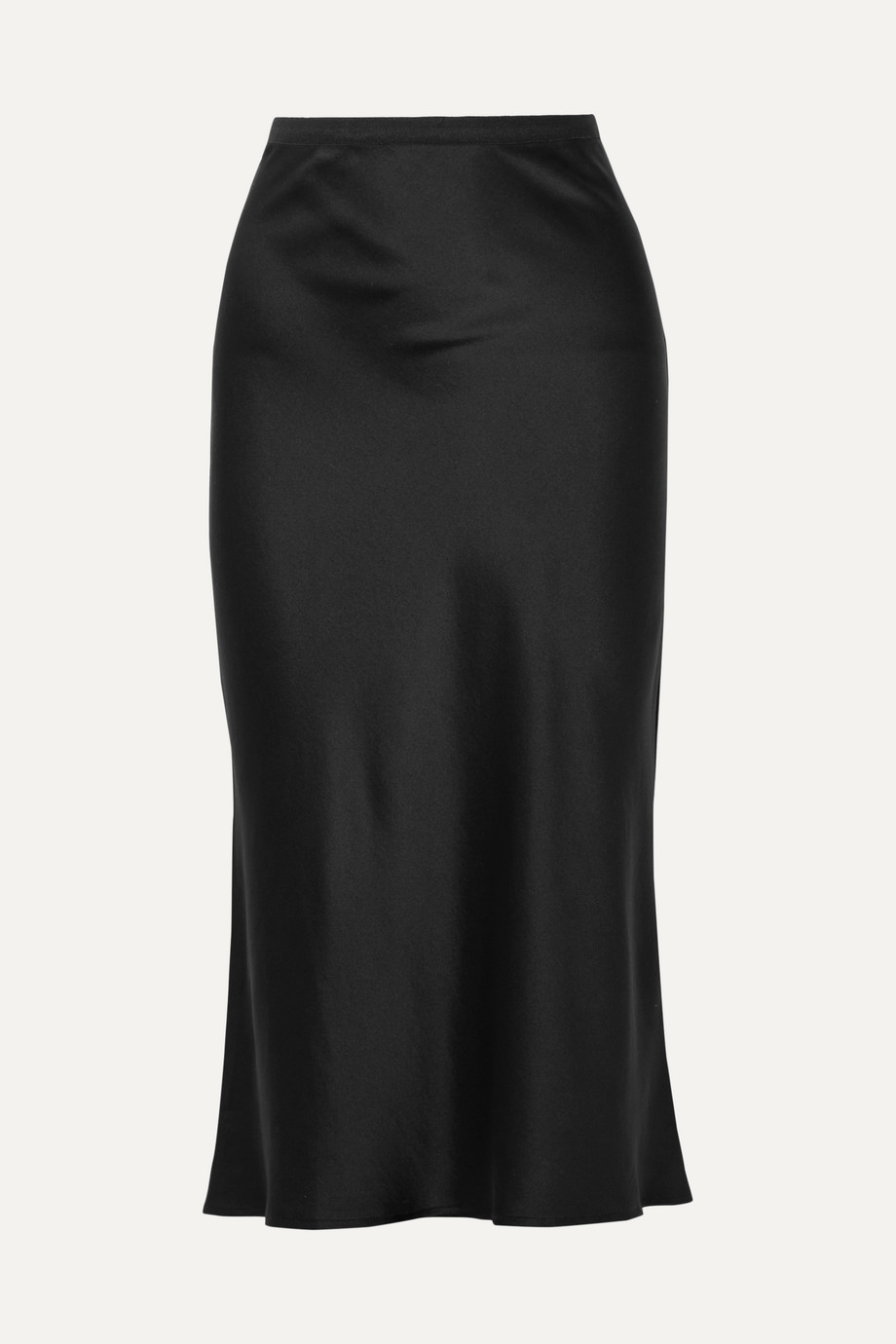 Anine Bing Bar silk-satin midi skirt
