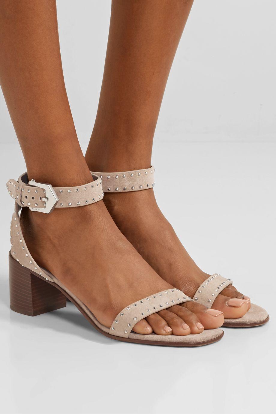 Givenchy Elegant studded suede sandals