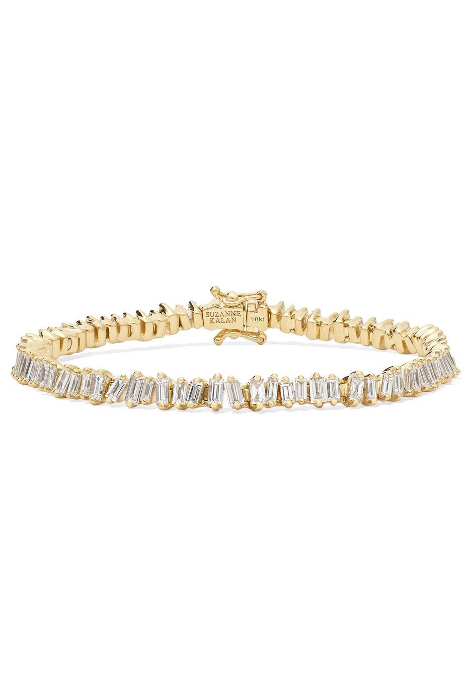 Suzanne Kalan Bracelet en or 18 carats et diamants
