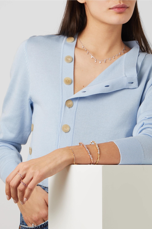 Suzanne Kalan Armband aus 18 Karat Gold mit Diamanten