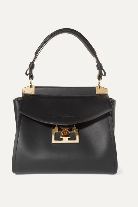 Black Mystic small leather tote | Givenchy J5KwfC