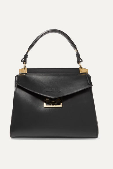 GIVENCHY | Givenchy - Mystic Medium Leather Tote - Black | Goxip