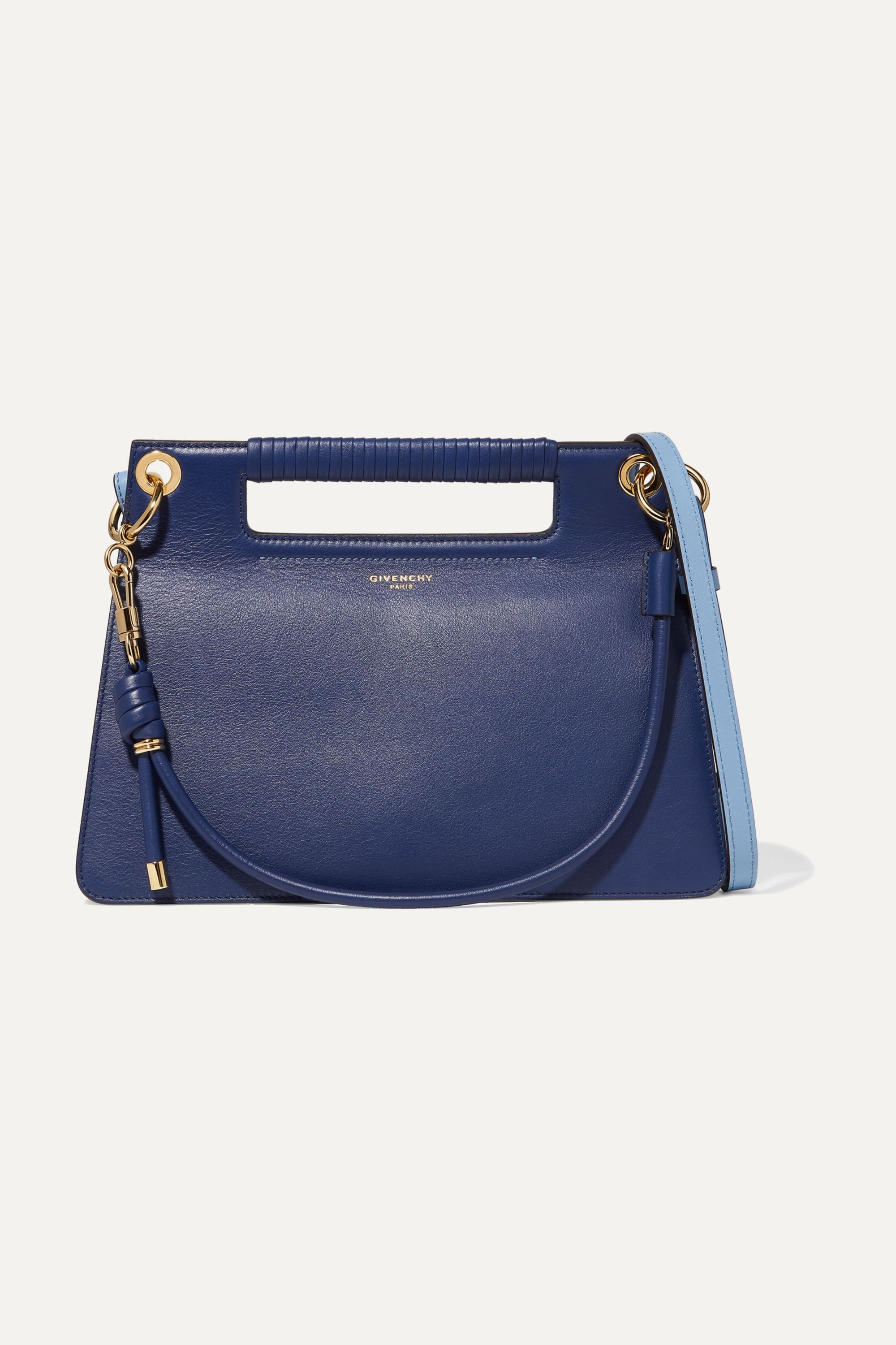Givenchy Whip medium two-tone leather shoulder bag