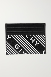 Givenchy Printed textured-leather cardholder