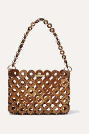 Cult Gaia Jasmin wood shoulder bag
