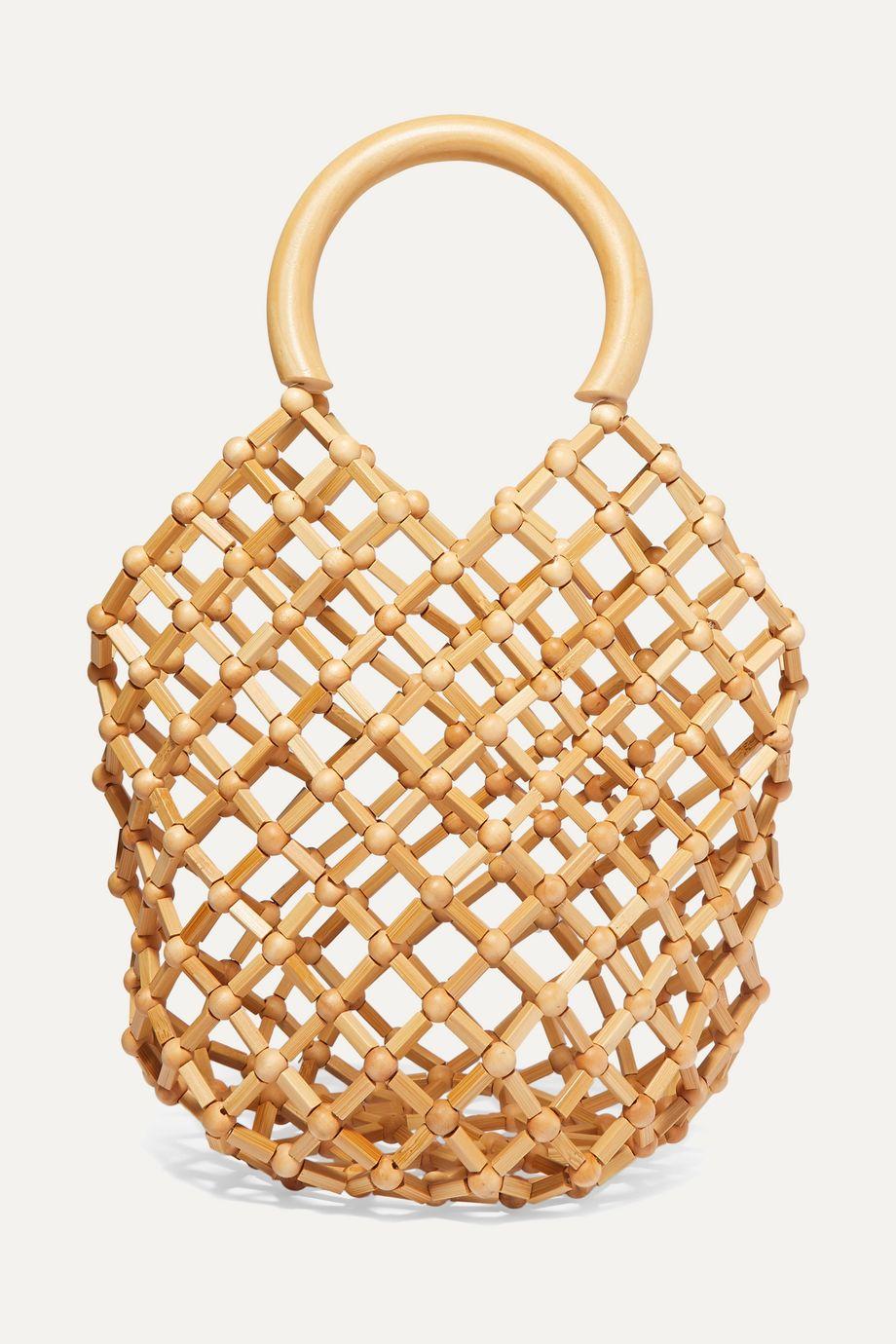 Cult Gaia Emmi bamboo tote