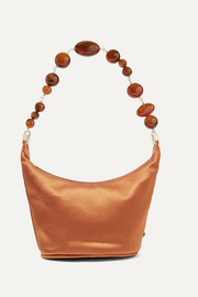 Cult Gaia Gia silk-satin shoulder bag