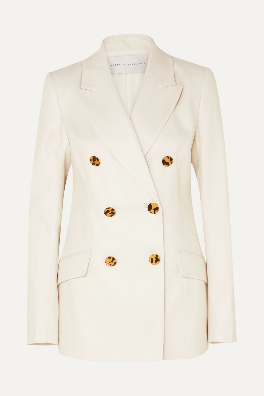 Rebecca Vallance Taylor linen and cotton-blend blazer