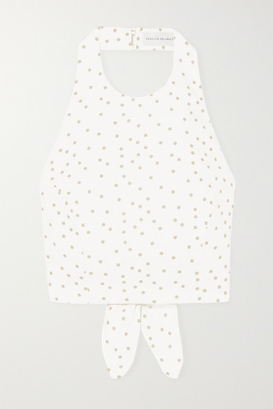 Polka Dot Halter Top