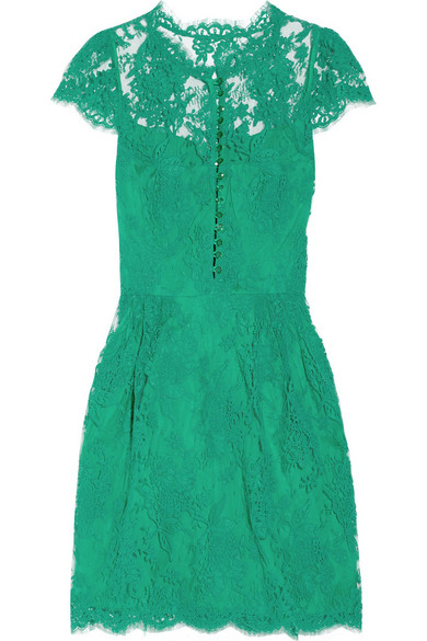 Sale alerts for Cap-sleeve lace dress Issa - Covvet