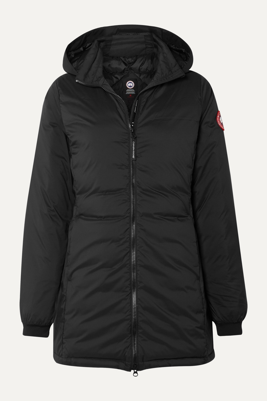 Canada Goose Camp hooded quilted ripstop down jacket