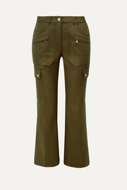 Michael Kors Collection Cotton-twill cargo pants
