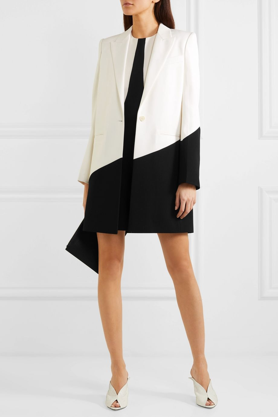 Givenchy Two-tone wool blazer