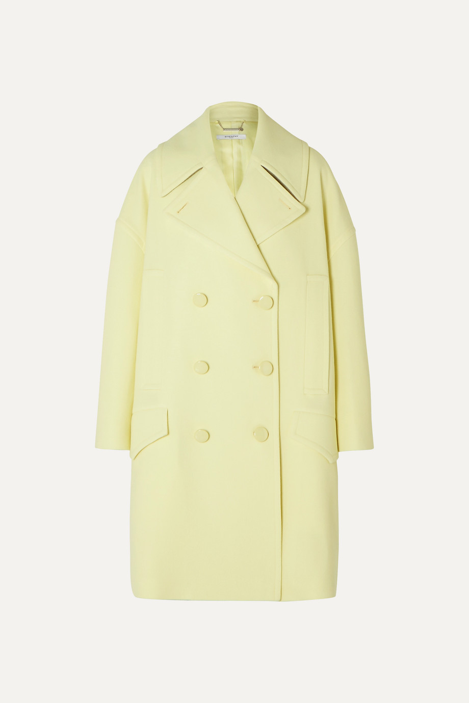 Givenchy Double-breasted wool coat