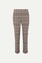 Givenchy Checked wool-blend straight-leg pants