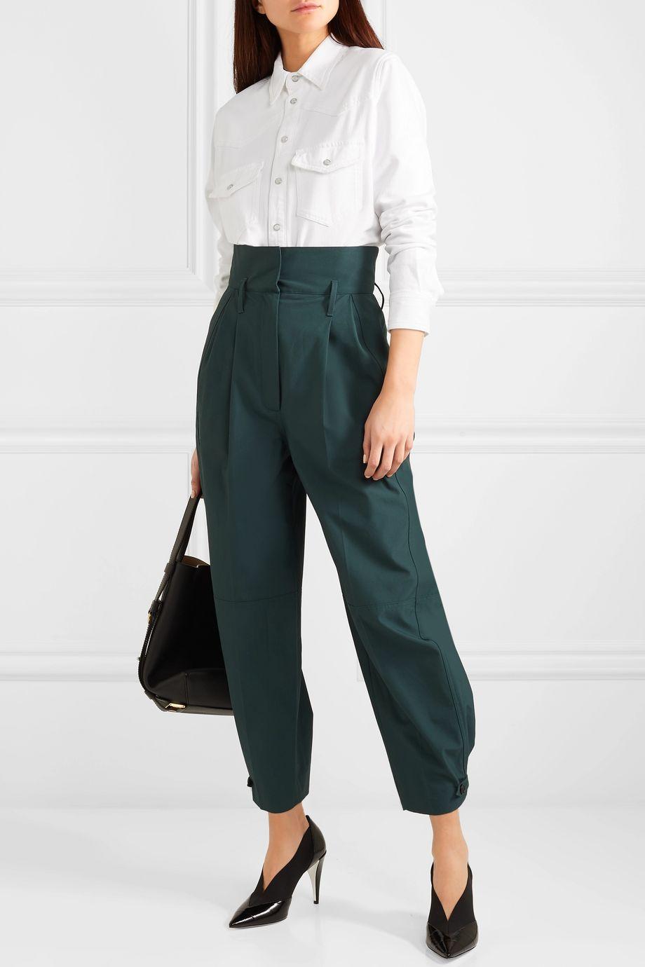 Givenchy Frayed denim shirt