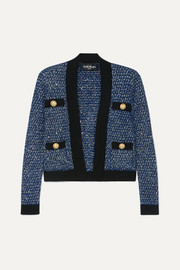 Balmain Metallic tweed jacket