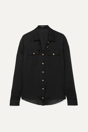 Balmain Silk-satin shirt