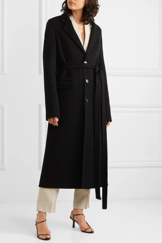 Bottega Veneta Belted wool coat